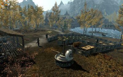 Farma pod Pękniną (Skyrim)