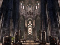 Интерьер храма Мотылька Предка (Междуцарствие)