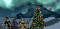 Стражники у елки