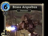 Brass Arquebus