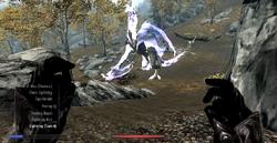 Disintegrate Dragon (Skyrim)