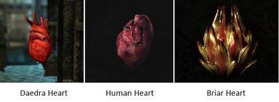 Hearts Skyrim
