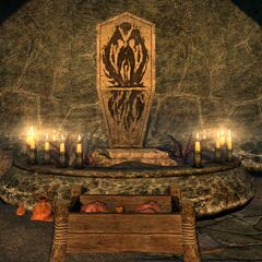 Kaplica Boethiah z gry The Elder Scrolls V: Dargonborn
