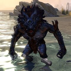 Troll rzeczny z gry The Elder Scrolls Online