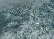 Skyrim map Pinewatch