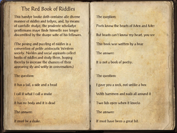 The Red Book of Riddles