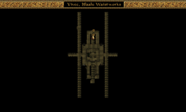 Vivec, Hlaalu Treasury Location Map - Hlaalu Canton, Waistworks Morrowind