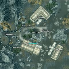 Дом Филньяра на карте Камня Шора