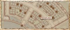 Красный алмаз. Карта