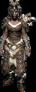 Ламеллярная броня с рогами (ж)