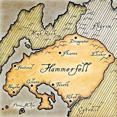 Хаммерфелл карта