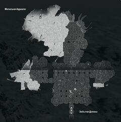 Внутреннее Святилище - план