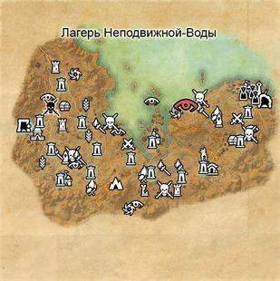 Лагерь Неподвижной-Воды (карта)