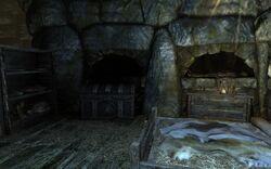 Спальня главаря бандитов