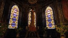 Статуя Азуры в аббатстве отверженных