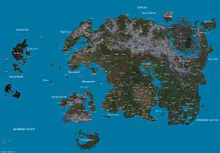 Топографическая карта Тамриэля (3E405)