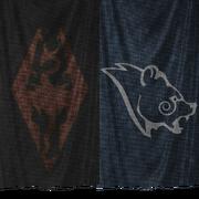 Sztandary Gromowładnych i Legionu Cesarstwa (Skyrim)
