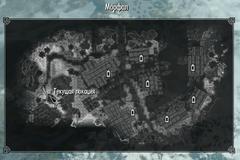 Кладбище Морфала карта
