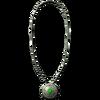 Silveramuletemerald