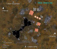 Вайтран - Имперский лагерь план