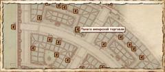 Палата имперской торговли. Карта