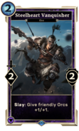 Steelheart Vanquisher (Legends) DWD