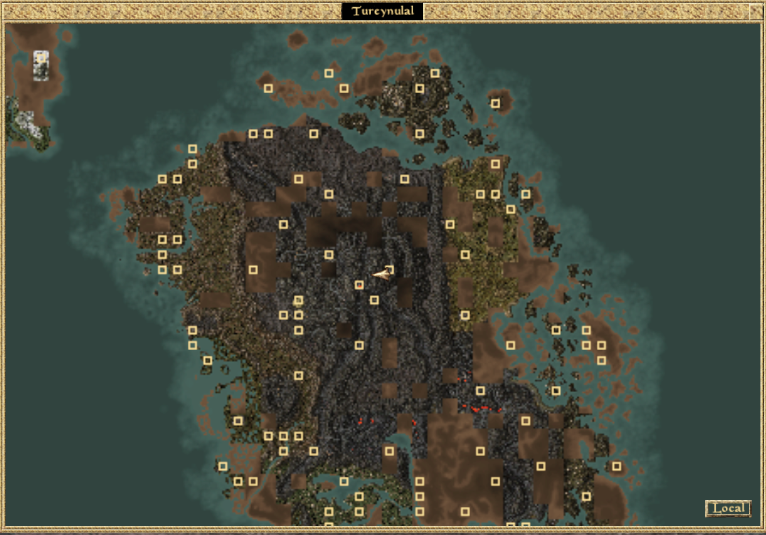 Morrowind Map Tourist Attractions Map In Alaska Anchorage Map