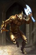 Auroran Sentry card art