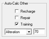 Auto-Calc Other