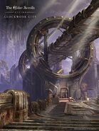 ESO Clockwork City Wallpaper Brass Fortress 2 Vertical