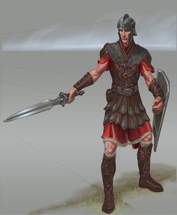 Imperial Soldier Concept art proper