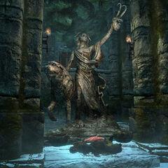 Kaplica Clavicusa Złośliwego i Barbasa z gry The Elder Scrolls V: Skyrim