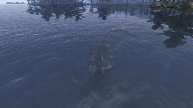 File:Ruined Shrine of Boethiah Above water Morrowind.png