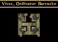 Ordinator Barracks Interior Map - Morrowind