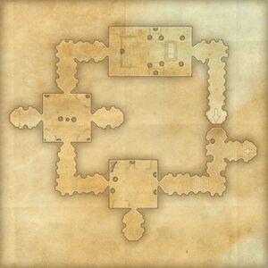 Зал Бурый камень (план)