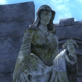 Posąg Dibelli z gry The Elder Scrolls IV: Oblivion