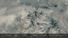 Курган Белый Хребет. Карта