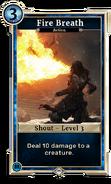 Fire Breath Level 3 DWD