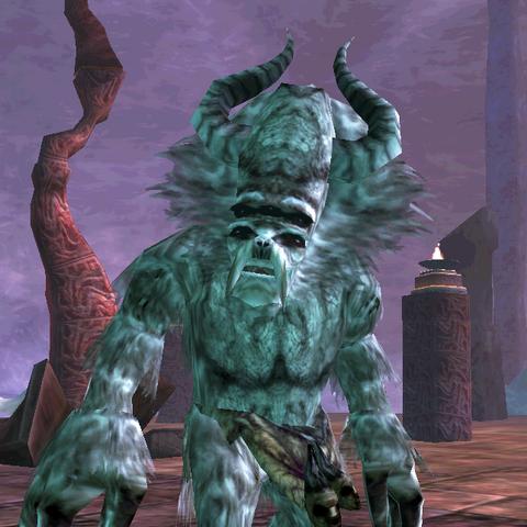 Kaarstag, lodowy olbrzym z gry The Elder Scrolls III: Przepowiednia