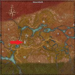 Mapa Twierdzy Smutku w The Elder Scrolls Online