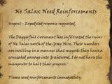 Ne Selas: Need Reinforcements