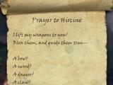 Prayer to Hircine