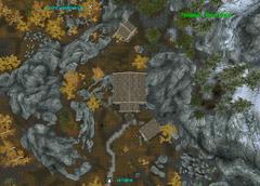 Резиденция Чёрный Вереск - план - снаружи