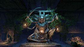 Статуя Ситиса TESO
