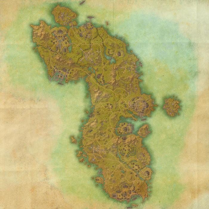 Auridon Map