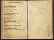 Words of the Wind