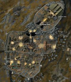 Дом Воительницы на карте Вайтрана