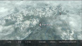 Dragon Bridge (Skyrim)   Elder Scrolls   FANDOM powered by Wikia on