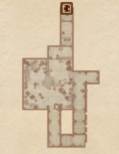 Замок Лейавин - Подвал. План