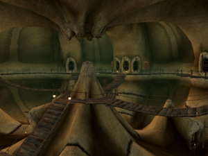 Ald'Ruhn-Under-Skar Interior Morrowind